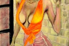 rosa & orange